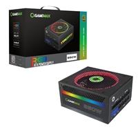 GameMax RGB 850W 140mm Ultra Silent RGB Ring Fan 80 PLUS Gold Fully Modular PSU