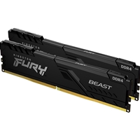 Kingston 16GB 3200MHz DDR4 CL16 DIMM (Kit of 2) FURY Beast Black