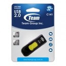 Team C141 32GB USB 2.0 Yellow USB Flash Drive