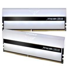 Team T-Force XTREEM ARGB 16GB White Heatsink with ARGB LEDs (2 x 8GB) DDR4 3200MHz DIMM System Memory