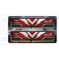 Team T-Force Zeus 16GB Red Heatsink (2 x 8GB) DDR4 3200MHz DIMM System Memory