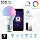 ENER-J Smart WiFi GLS RGB with White and Warm White 9W LED Bulb E27 Base