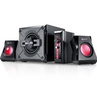 Genius GX Gaming SW-G 2.1 1250 V2 Black & Red Gaming Speaker System
