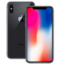Standard iPhone X LCD Display and Glass Screen Replacement Repair